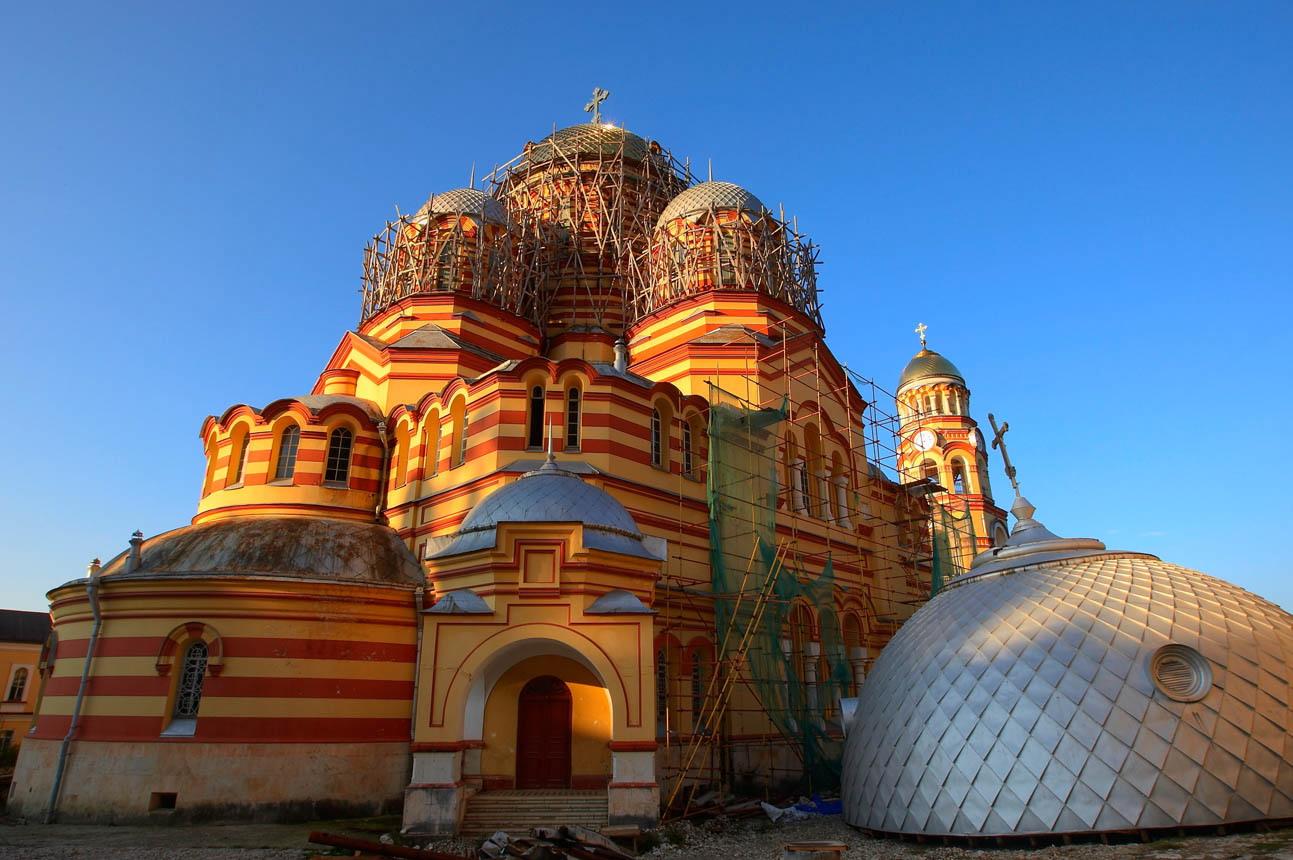 Новый Афон монастырь_2