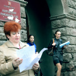 Анна Лебедева на собственном опыте испытывала российское правосудие (фото Александра Корсунского)