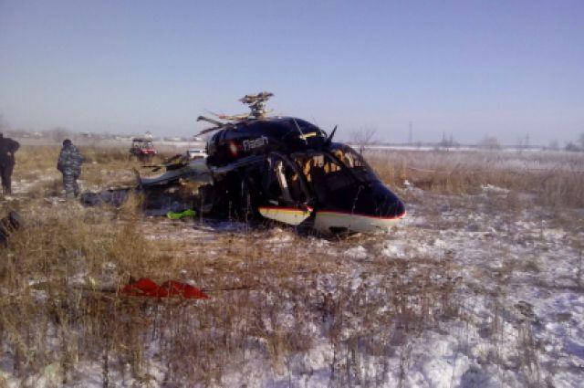 падение вертолета в аксайском районе
