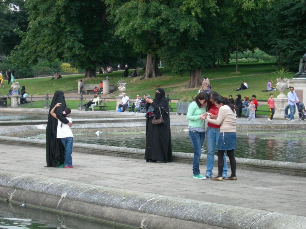 В лондонском парке