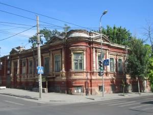 Дом Тер-Григорянов на углу Мурлычёвской и 20-й линии