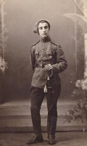 Арам Ягубьянц, участник  Брусиловского прорыва на Юго-Западном фронте в1916 году